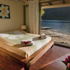Отель Robinson's Cove Villas - Deluxe Wallis Villa Французская Полинезия, Муреа - отзывы, цены и фото номеров - забронировать отель Robinson's Cove Villas - Deluxe Wallis Villa онлайн комната для гостей фото 4