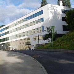 Отель RADIUMHOSPITALET Осло парковка