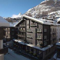 Отель Walliserhof Zermatt 1896 Швейцария, Церматт - отзывы, цены и фото номеров - забронировать отель Walliserhof Zermatt 1896 онлайн балкон