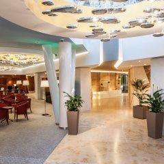 Отель Ensana Thermal Aqua Венгрия, Хевиз - 9 отзывов об отеле, цены и фото номеров - забронировать отель Ensana Thermal Aqua онлайн интерьер отеля фото 2