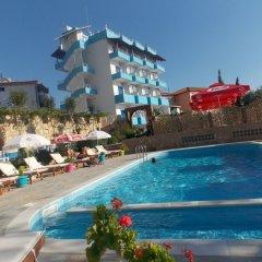 Отель Itaka Hotel Албания, Химара - отзывы, цены и фото номеров - забронировать отель Itaka Hotel онлайн бассейн фото 2