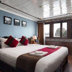 Отель Halong Carina Cruise Вьетнам, Халонг - отзывы, цены и фото номеров - забронировать отель Halong Carina Cruise онлайн комната для гостей фото 2