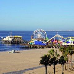 Отель SHORE Санта-Моника пляж