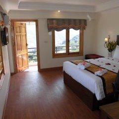 Отель Sapa Eden View Hotel Вьетнам, Шапа - отзывы, цены и фото номеров - забронировать отель Sapa Eden View Hotel онлайн комната для гостей фото 2