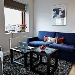 Отель Charlottehaven Дания, Копенгаген - отзывы, цены и фото номеров - забронировать отель Charlottehaven онлайн комната для гостей фото 3
