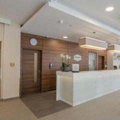 Отель Hampton by Hilton Frankfurt City Centre Messe интерьер отеля