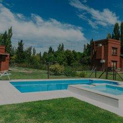 Отель Cabañas La Cosecha Сан-Рафаэль бассейн фото 2