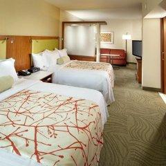 Отель SpringHill Suites by Marriott Columbus OSU комната для гостей фото 3
