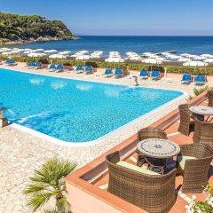 Hotel Del Golfo Проччио бассейн фото 3