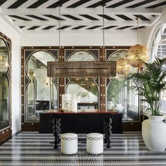 Hotel Californian интерьер отеля