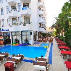 Отель Palm Beach бассейн фото 2