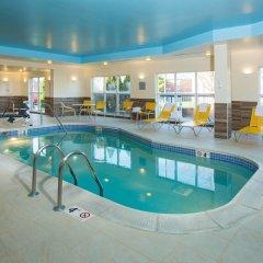Отель Fairfield Inn & Suites by Marriott Columbus OSU США, Колумбус - отзывы, цены и фото номеров - забронировать отель Fairfield Inn & Suites by Marriott Columbus OSU онлайн бассейн фото 2