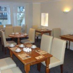 Отель Sandyford Lodge Глазго питание