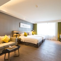 Отель The Mulian Urban Resort Hotels Nansha комната для гостей фото 5