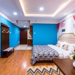 Отель Private Enjoyed Home JinYuan Apartment Китай, Гуанчжоу - отзывы, цены и фото номеров - забронировать отель Private Enjoyed Home JinYuan Apartment онлайн комната для гостей