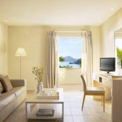 Отель Mayor La Grotta Verde Grand Resort - Adults Only Греция, Корфу - отзывы, цены и фото номеров - забронировать отель Mayor La Grotta Verde Grand Resort - Adults Only онлайн комната для гостей фото 5