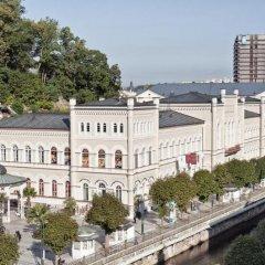 Отель Windsor Spa Карловы Вары приотельная территория