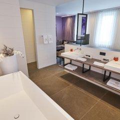 Отель Ammonite Hotel Amsterdam Нидерланды, Амстелвен - отзывы, цены и фото номеров - забронировать отель Ammonite Hotel Amsterdam онлайн ванная фото 2