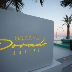 Отель Dorado Ibiza Suites - Adults Only Испания, Сант Джордин де Сес Салинес - отзывы, цены и фото номеров - забронировать отель Dorado Ibiza Suites - Adults Only онлайн пляж