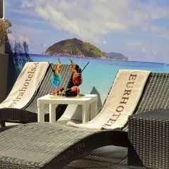 Отель Eurhotel Италия, Римини - отзывы, цены и фото номеров - забронировать отель Eurhotel онлайн пляж