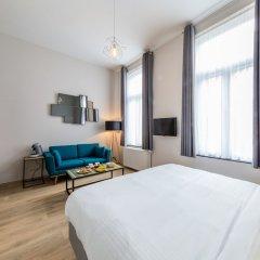Отель Urban Suites Brussels Schuman Брюссель комната для гостей фото 3