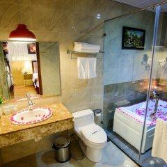 Отель Smart hotel 3 Вьетнам, Ханой - отзывы, цены и фото номеров - забронировать отель Smart hotel 3 онлайн ванная