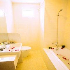 Отель Euro Star Hotel Вьетнам, Нячанг - отзывы, цены и фото номеров - забронировать отель Euro Star Hotel онлайн ванная фото 2