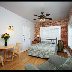 Отель Venice Beach Suites & Hotel США, Лос-Анджелес - отзывы, цены и фото номеров - забронировать отель Venice Beach Suites & Hotel онлайн комната для гостей фото 3