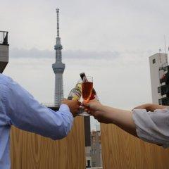 Отель KITSUNE SHIPPO - Hostel Япония, Токио - отзывы, цены и фото номеров - забронировать отель KITSUNE SHIPPO - Hostel онлайн приотельная территория