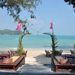 Отель Samui Honey Cottages Beach Resort пляж фото 2
