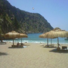 Отель Kelebekler Vadisi пляж