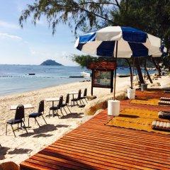 Отель Koh Tao Montra Resort & Spa пляж