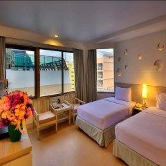 Отель Sunshine Hotel And Residences Таиланд, Паттайя - 7 отзывов об отеле, цены и фото номеров - забронировать отель Sunshine Hotel And Residences онлайн комната для гостей фото 4