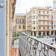 Отель Pensión BUENPAS Испания, Сан-Себастьян - отзывы, цены и фото номеров - забронировать отель Pensión BUENPAS онлайн балкон