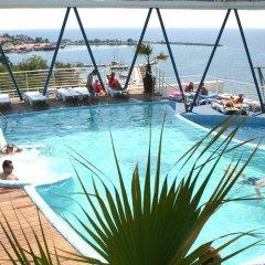 Отель SOL Marina Palace Болгария, Несебр - отзывы, цены и фото номеров - забронировать отель SOL Marina Palace онлайн бассейн фото 3