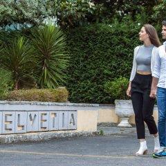 Отель Terme Helvetia Италия, Абано-Терме - 3 отзыва об отеле, цены и фото номеров - забронировать отель Terme Helvetia онлайн приотельная территория