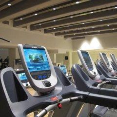 Отель Crowne Plaza Zürich Цюрих фитнесс-зал