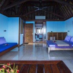 Отель Oa Oa Lodge Французская Полинезия, Бора-Бора - отзывы, цены и фото номеров - забронировать отель Oa Oa Lodge онлайн комната для гостей фото 5