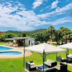Отель Bungalows Papalús Испания, Льорет-де-Мар - отзывы, цены и фото номеров - забронировать отель Bungalows Papalús онлайн бассейн фото 2