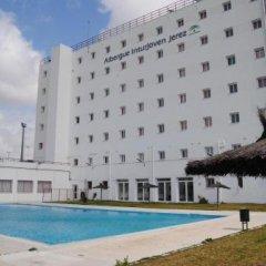 Отель Albergue Inturjoven Jerez De La Frontera Испания, Херес-де-ла-Фронтера - отзывы, цены и фото номеров - забронировать отель Albergue Inturjoven Jerez De La Frontera онлайн бассейн фото 3