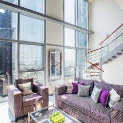 Апартаменты Dream Inn - CentralPark Tower 2BR Duplex Apartment интерьер отеля