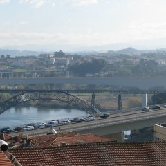 Отель Residencial Porto Novo Alojamento Local Порту приотельная территория