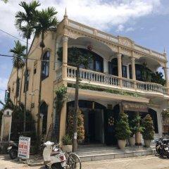 Thanh Binh 1 City Hotel Хойан парковка