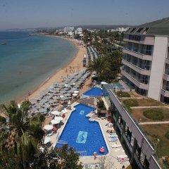 Отель Aska Just In Beach – All Inclusive пляж фото 2