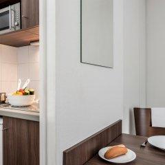 Отель Aparthotel Adagio access Paris Quai d'Ivry 3* Апартаменты с различными типами кроватей фото 5