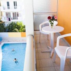 Отель Theonia Hotel Греция, Кос - 1 отзыв об отеле, цены и фото номеров - забронировать отель Theonia Hotel онлайн балкон