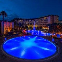Miramare Beach Hotel Турция, Сиде - 1 отзыв об отеле, цены и фото номеров - забронировать отель Miramare Beach Hotel онлайн бассейн