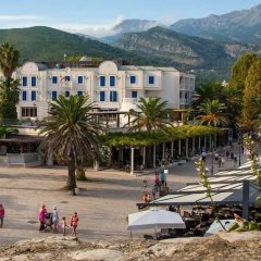 Отель Aleksandar Черногория, Рафаиловичи - отзывы, цены и фото номеров - забронировать отель Aleksandar онлайн пляж фото 2