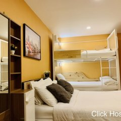 Click Hostel Бангкок комната для гостей фото 2