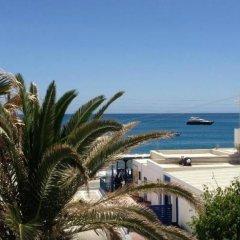Отель Kamari Blu Греция, Остров Санторини - отзывы, цены и фото номеров - забронировать отель Kamari Blu онлайн пляж фото 2